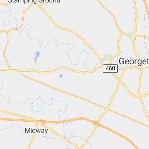 Lexington, KY Street Map (2012) - Bluegrass ADD - Avenza Maps