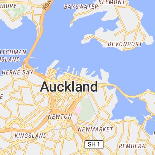 Auckland CBD Elevation - IC Geosolution - Avenza Maps
