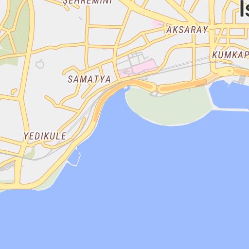 Sultanahmet Area, Istanbul, Turkey - Avenza Systems Inc ...